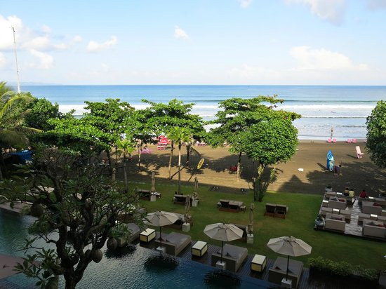 Anantara Seminyak Bali Resort: View from the room