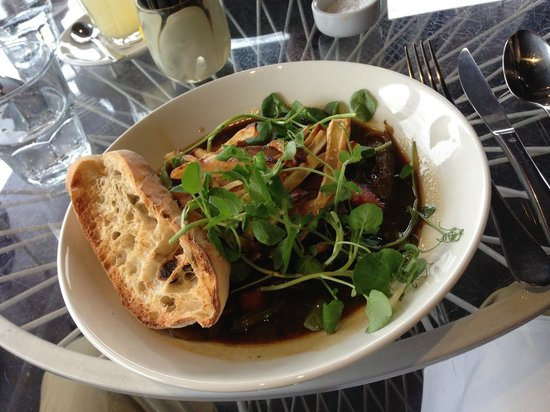 Takapuna Beach Cafe : Beef stew