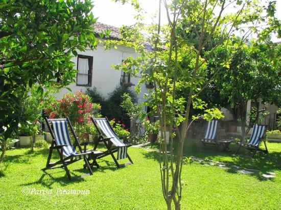 Villa Konak Hotel Kusadasi: garden