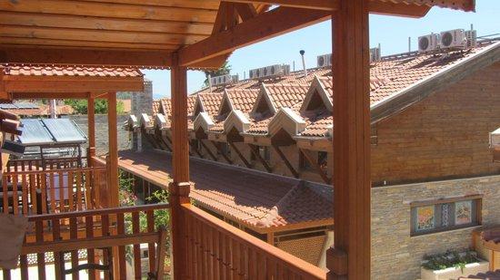 BC Spa Hotel : vue sur les toits étage 1