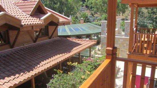 BC Spa Hotel : vue d'un balcon chambre 315