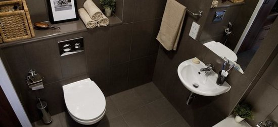 The Student Hotel Amsterdam West: All bathrooms are brand new