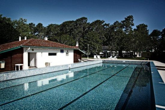 Le Domaine du Pignada : Domaine du Pignada - Hébergement Groupe et Individuel sur la Côte Basque - La piscine exterieure