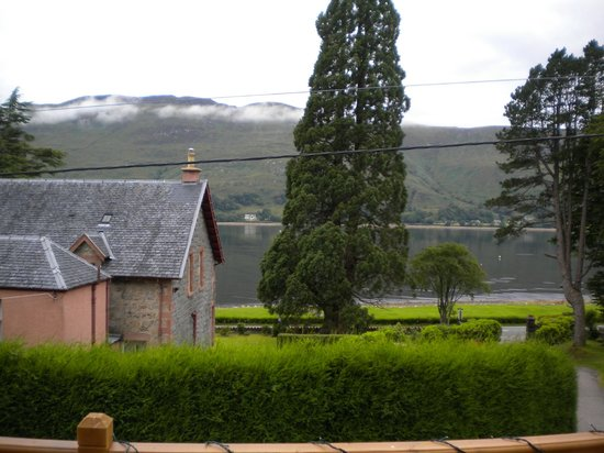 Laurel Bank Lodge : View from the Breakfast Room