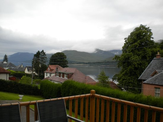 Laurel Bank Lodge: View from balcony of Breakfast Room