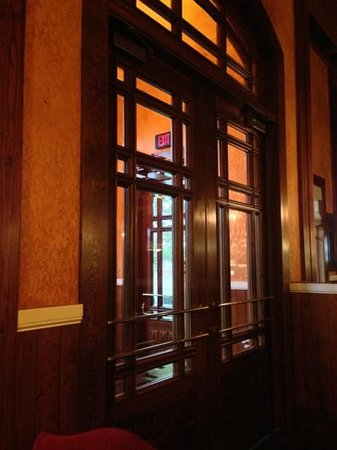 The Old Spaghetti Factory: one of the biggest entrance doors I've seen