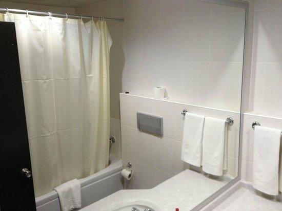 Royal Palace: Just adequate bathroom