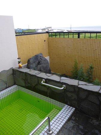 Fujimon: 海を臨む露天風呂