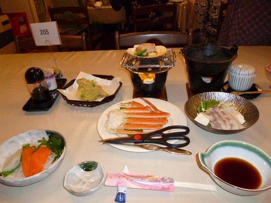 Fujimon: 夕食