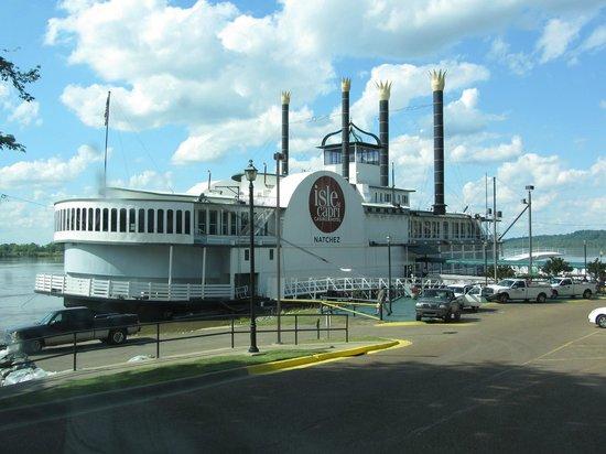 Natchez, Mississippi: Bateau casino
