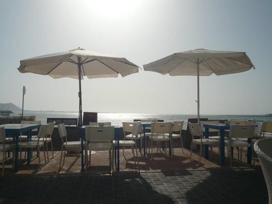 Alta Marea: panorama dai divanetti del Bar