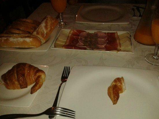Sant Feliu Hotel : Desayuno