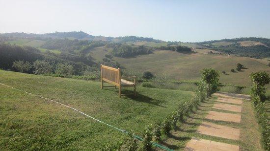 Casa San Ruffino: Blick vom Garten
