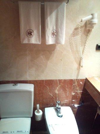 คาทาโลเนีย ไดโกนอล เซ็นโทร โฮเต็ล: Toilet en bidet