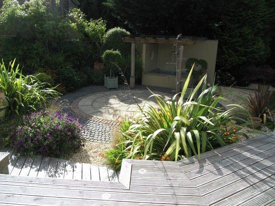 Lord Bute Hotel: Beautiful private garden