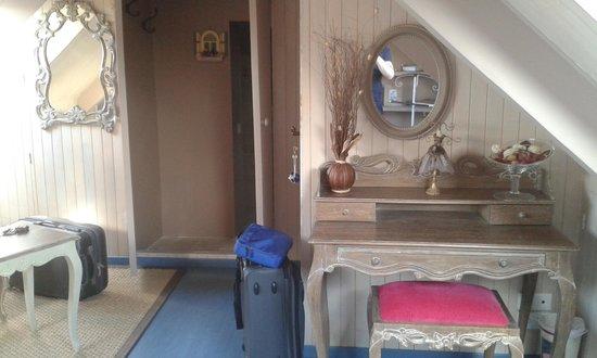 Aux Portes de Brehat : un angolo della mansarda