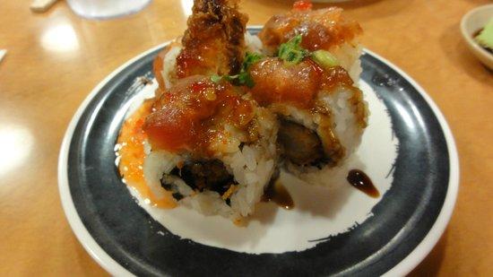 Genki Sushi Hawaii Incorporated: Crab Tempura Roll