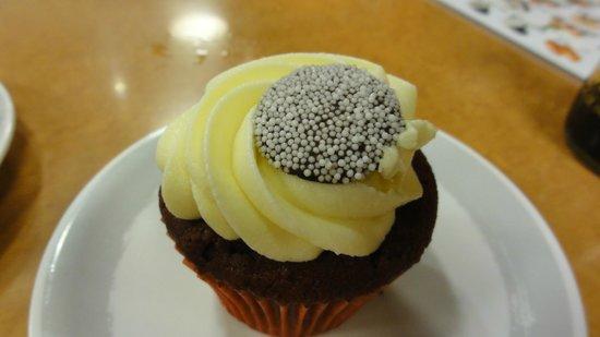 Genki Sushi Hawaii Incorporated: Velvet Cake Cupcake