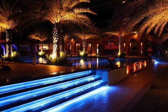 Marrakesh Hua Hin Resort & Spa: Beuatiful colors of lights