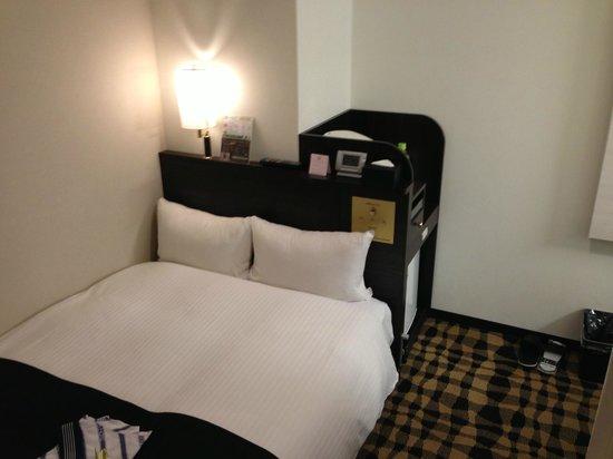 APA Hotel Asakusa Kuramae: ベッド