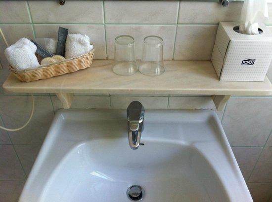 Grand Hotel Moriaz : Particolare del bagno