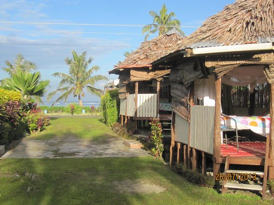 Le Valasi's Beach Fales : Home away from home