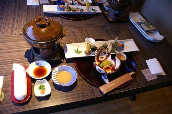 Nishiizu Koyoi Onsen : 夕食1
