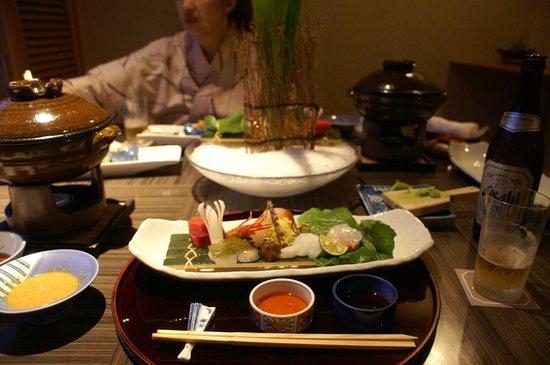 Nishiizu Koyoi Onsen : 夕食2