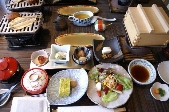 Nishiizu Koyoi Onsen : 朝食