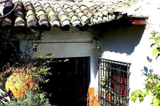 Vista del tejadito de la entrada terraza bild von for Jardines de zoraya granada