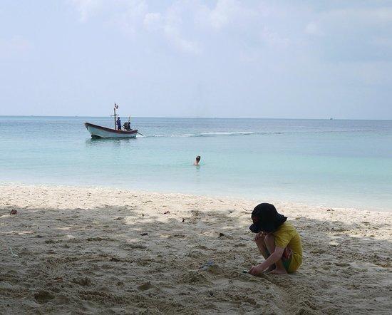 Ibiza Bungalow : Shade on the beach