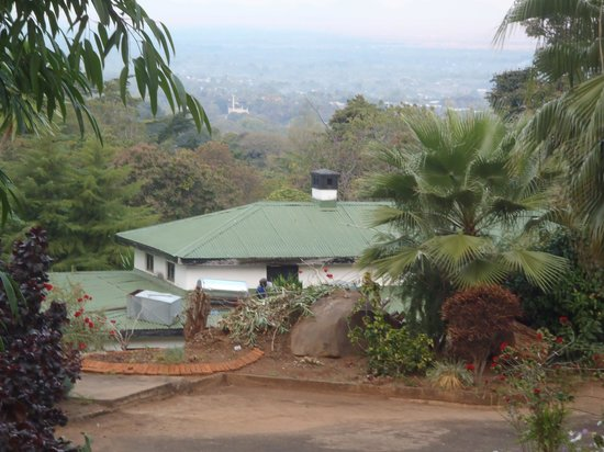 Annie's Lodge Zomba: View  from above the lodge