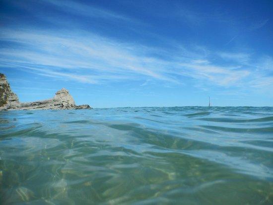 Playa de Langre: Vista desde el agua