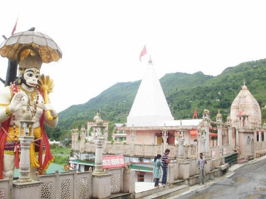 Naukuchiatal, Indien: The Overview of the Temple
