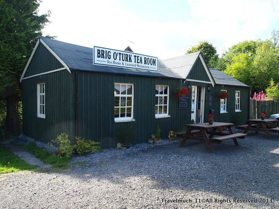 Brig o' Turk Tearoom and Restaurant: Brig O'Turk Tea Rooms - Built 1920's
