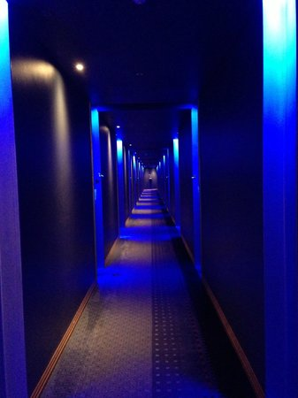 African Pride Melrose Arch Hotel : The hallway leading to the rooms ;)