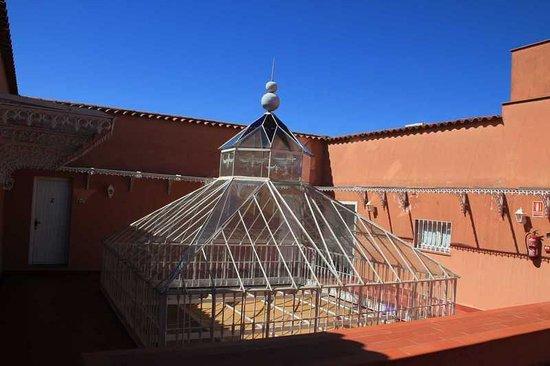 Casa Palacio Conde de la Corte: Cristalera desde terraza