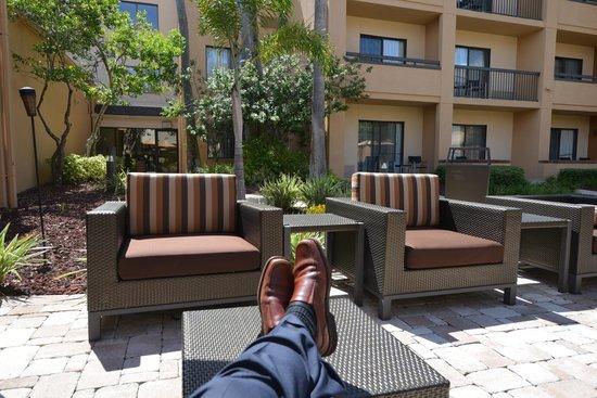 Courtyard St. Petersburg Clearwater: Very Nice