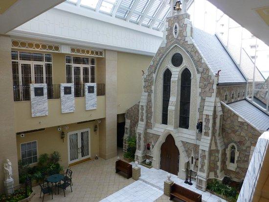 Hotel Monterey Kyoto: chapel inside the hotel
