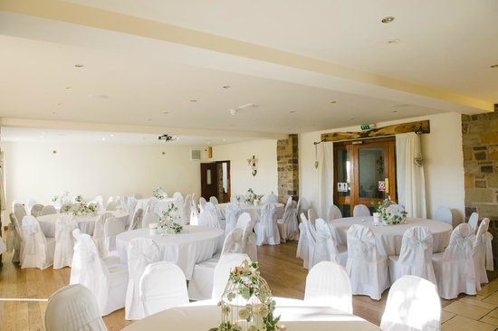 Hoghton, UK: Evening reception - main function room