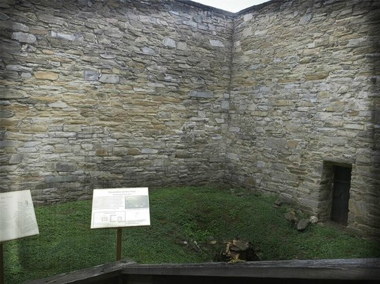 The Fauquier History Museum at the Old Jail: exercise yard