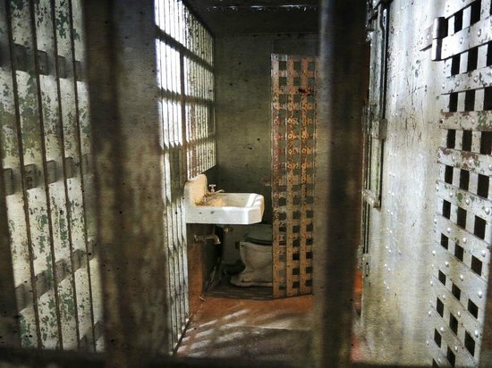 The Fauquier History Museum at the Old Jail: solitary confinement