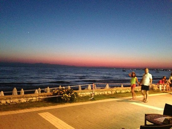 Sunprime Dogan Side Beach: View from the restaurant