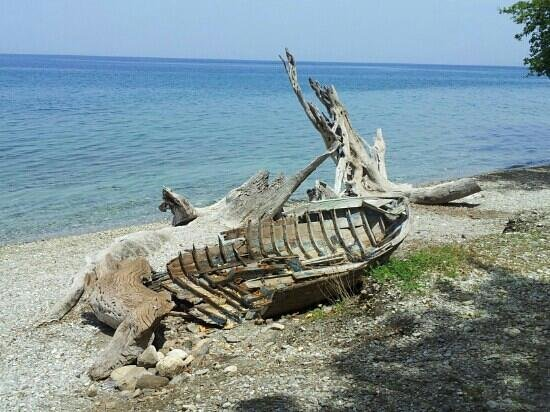 Guzelcamli, Turkey: shipwrecked