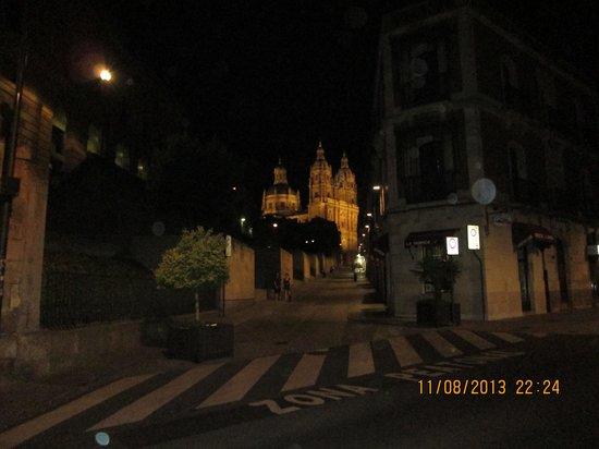 Ibis Salamanca: one of many churches