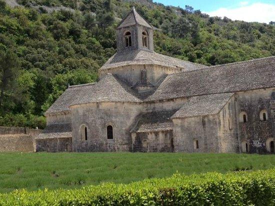 Chateau de Vedene: Abbey of Seanque - near Gordes