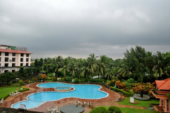 Fortune Park Panchwati Hotel: Pool view from the room