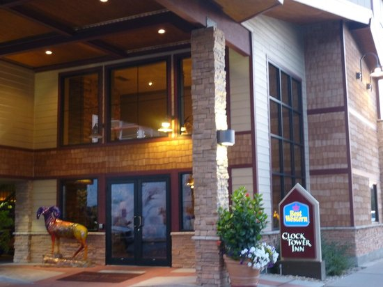 BEST WESTERN PLUS ClockTower Inn: ingresso hotel