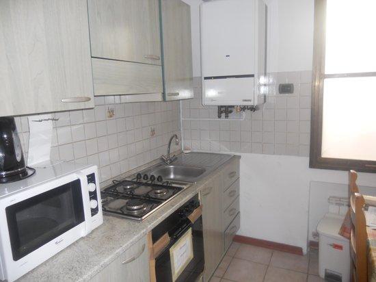 Locanda Barbarigo: Kitchen