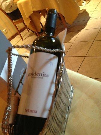 Hotel Butgenbacher-Hof: Le vin conseillé par le fils des patrons